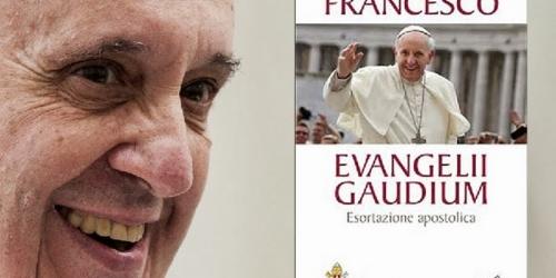 <p> Exorta&ccedil;&atilde;o Apost&oacute;lica Evangelii Gaudium (A alegria do Evangelho) do Papa Francisco</p>